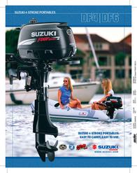 Suzuki DF4DF6 Product Manual
