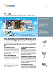 Compro TN1500 Data Sheet