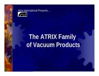 Atrix express hepa vacuum Brochure