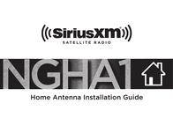 SiriusXM NGHA1 Owner's Manual