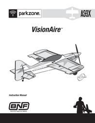 ParkZone VisionAire BNF PKZ6580 Data Sheet