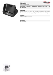 Phonix S9100DS Leaflet