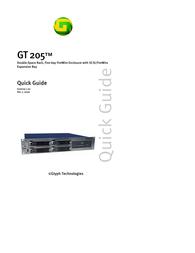 Glyph gt205-1000 Quick Setup Guide
