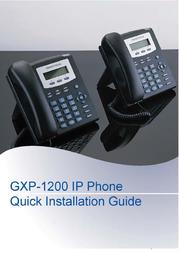 Grandstream Networks GXP1200 GXP-1200 User Manual