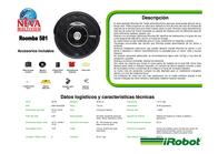 iRobot Roomba 581 820032 Leaflet
