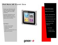 Groov-e GV-NANO6C GVNANO6C Leaflet