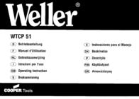 Weller WEL.WTCP51 005 32 206 99 Data Sheet
