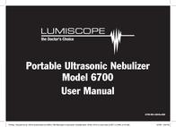 Lumiscope 6700 User Manual