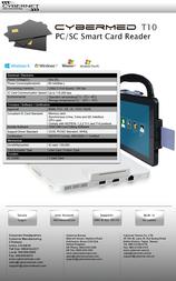 Cybernet Medical Tablet PC CYBERMED-T10 Leaflet