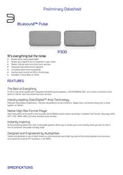 Bluesound Pulse P300 P300W Data Sheet