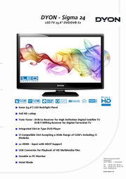 Dyon Sigma 24 D800020 User Manual
