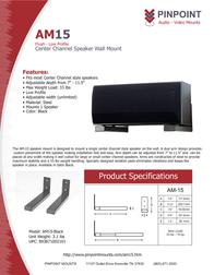 Pinpoint Mounts AM15-Black AM15-BLACK Leaflet