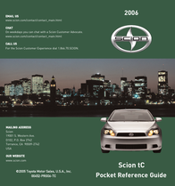 Scion 2006 User Manual