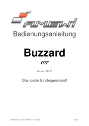 Amewi BUZZARD 25137 Data Sheet