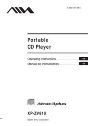 Aiwa XP-ZV610 User Manual