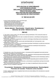 Elro RM144C Declaration Of Conformity