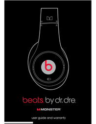 Monster Beats Dr. Dre Solo User Manual