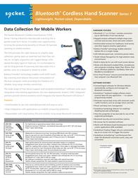 Socket Mobile CHS 7P CX2830-1097 Leaflet