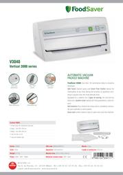Macom V3040 Leaflet