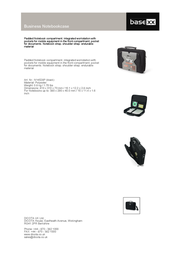 basexx Business Notebookcase N14528P Leaflet