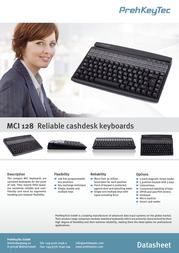 PrehKeyTec MCI 128 90328-606/1800 Leaflet