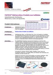 FASTECH B20-SKL999910 Data Sheet