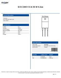 Fixapart 2SC4542 Leaflet
