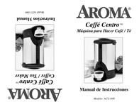 Aroma ACU-040 User Manual