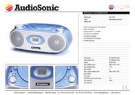AudioSonic CD-1578 User Manual