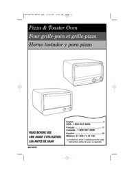 Proctor Silex pizza and toaster oven User Manual
