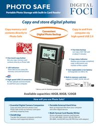 Digital Foci psf-250 Brochura