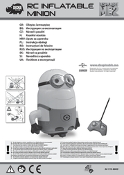 Dickie Toys RC Inflatable Minion 201120005 Data Sheet