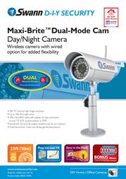 Swann SW231-WMX Leaflet