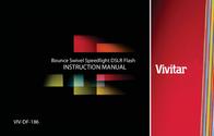 Vivitar Flash Memory VIV-DF-186 User Manual