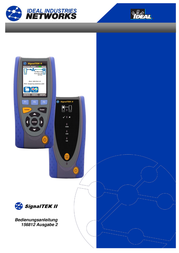 Ideal Networks SignalTEK IICable length meter, R156001 User Manual