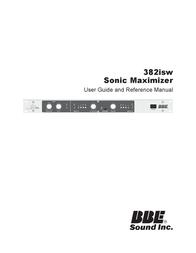 BBE Sound, Inc. Yogurt Maker 382isw User Manual