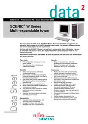 Fujitsu SCENIC W600 I845GE S26361-K666-V211 데이터 시트