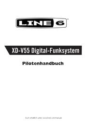 Line 6 XD-V55HS Funk-Headset Wirless Microphone 99-123-0132 Data Sheet