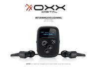 OXX Bathroom Radio, Black OXX Digital Clip Data Sheet