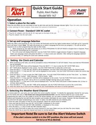 Sima wx-167 Quick Setup Guide