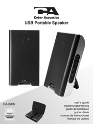 Cyber Acoustics CA-2908 User Manual
