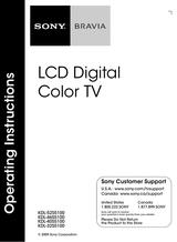 Sony Kdl 32s5100 Guia Del Usuario Pagina 1 Def 24 Manualsbrain Com