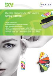 Option iCON XY GI0335-11659 Leaflet