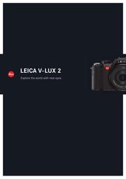 Leica V-LUX 2 Brochure