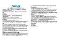 Vivanco Universal 8in1 remote control 21966 Leaflet