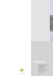 Mepamsa 112.0193.880 Manuale Utente