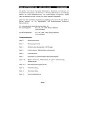Mebus Funk-Wetterstation mit Farbdisplay Wireless Weather Station 40306 Data Sheet