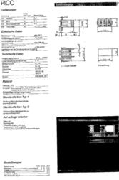 Hartmann PICO-DE-111AL2 Two-push Code Switch PICO-DE Decimal PICO-DE-111AL2 Data Sheet