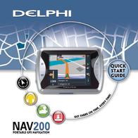 Delphi NAV200 Quick Setup Guide