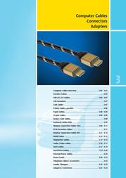 """Value USB 2.0 """"DOME"""" Cable, black 1.5 m 11.99.8998 Manuel D'Utilisation"""